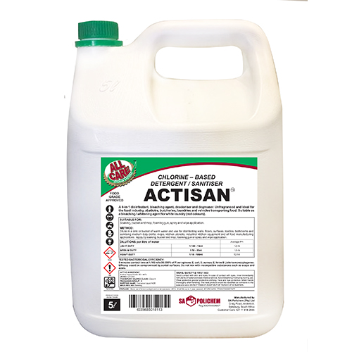 Chlorine-based Detergent / Sanitiser