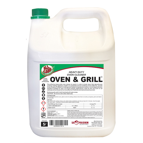 Oven & Grill Heavy-Duty Oven Cleaner
