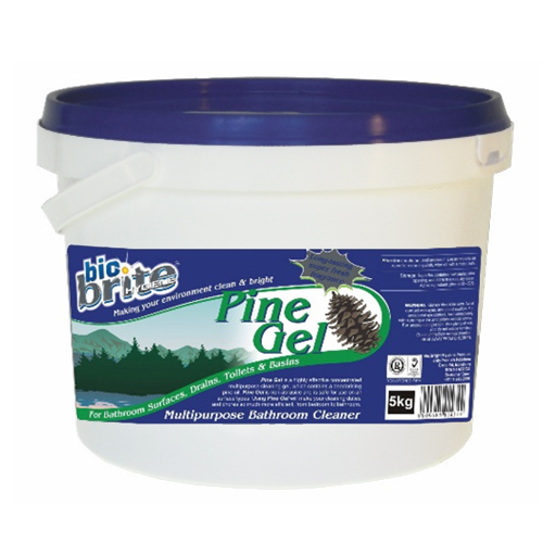 Pine Gel multipurpose bathroom cleaner