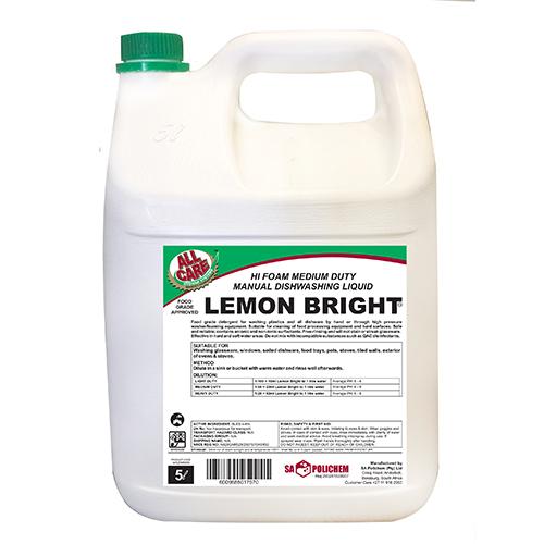 Lemon Bright Dishwashing Liquid
