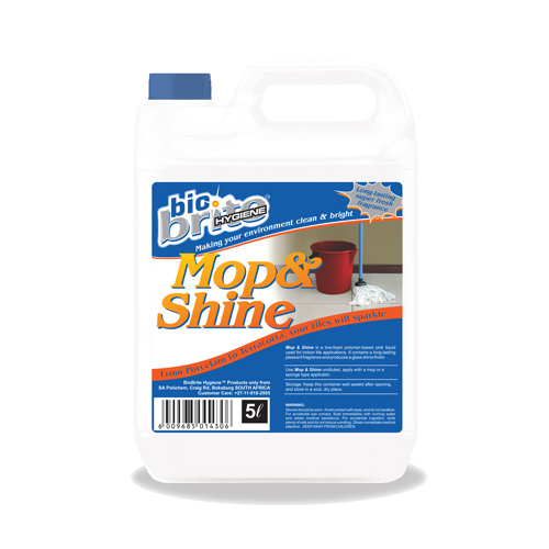 Mop & Shine floor shine