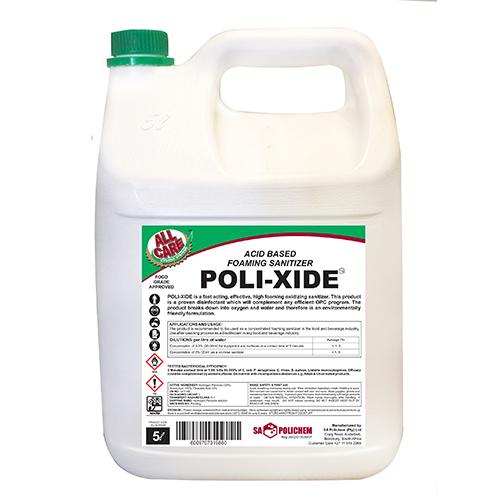 Acid-Based Foaming Sanitiser